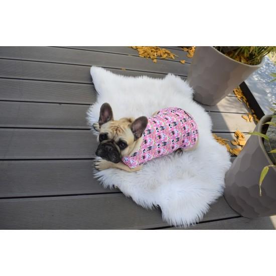 Berta kedvence, pink ujjatlan póló